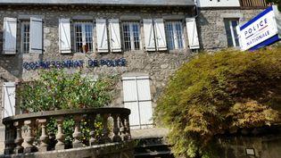 Le commissariat de police d'Ussel (Corrèze) en septembre 2016. (NICOLAS BLANZAT / FRANCE-BLEU LIMOUSIN / MAXPPP)