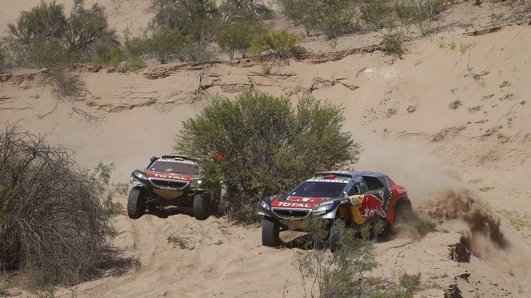 Les Peugeot attendent l'arrivée du Dakar 2016 avec impatience (FREDERIC LE FLOC H / DPPI MEDIA)
