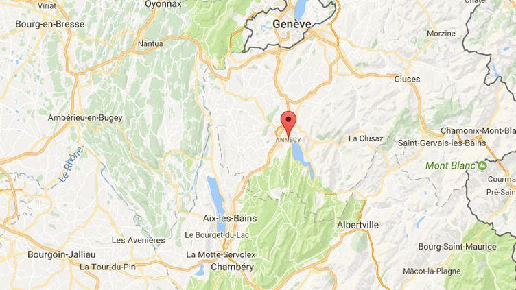 Annecy (Haute-Savoie) (GOOGLE MAPS)