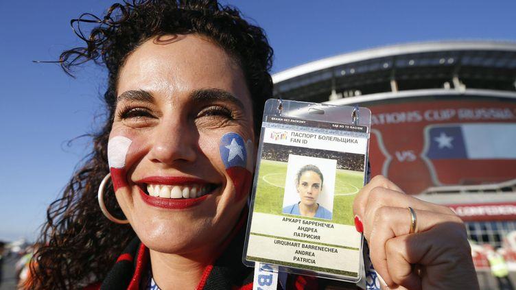 """Le """"Fan ID"""", avait déjà été introduit lors de la Coupe des Confédérations, organisée en juin 2017 en Russie. (MAXPPP)"""