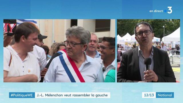 Politique we : Jean-Luc Mélenchon veut rassembler la gauche