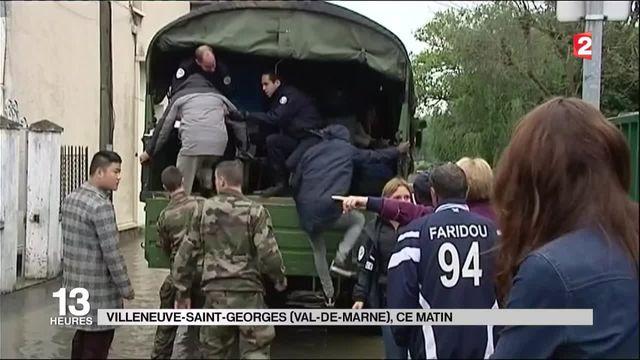 Inondations : le Val-de-Marne à son tour touché par la crue