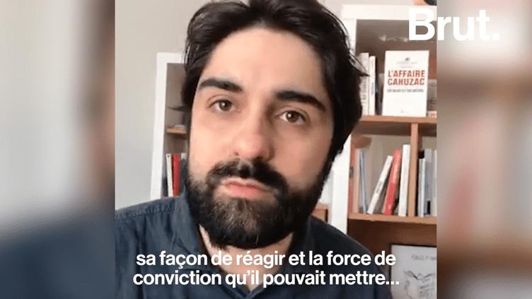 Plus de cinq ans après avoir révélé les faits, Fabrice Arfi de Mediapart revient sur l'affaire Cahuzac (BRUT)