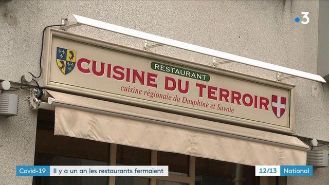 Covid-19 : un an après la fermeture imposée des restaurants