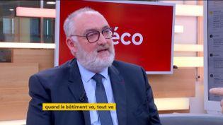 Patrick Liébus, président de la CAPEB (FRANCEINFO)