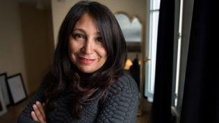Haifaa Al-Mansour, première réalisatrice de cinéma saoudienne  (GERARD JULIEN / AFP)