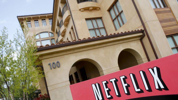 Le siège de Netflix, à Los Gatons, en Californie, le 13 avril 2011. (RYAN ANSON / AFP)