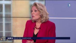Danièle Sportiello, du service politique de France Info. (FRANCE 3)