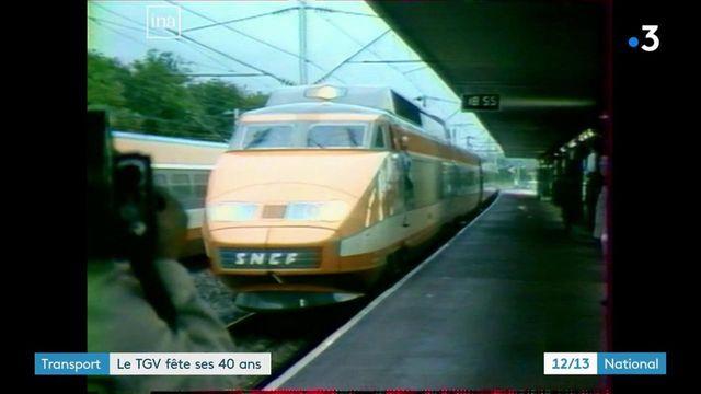 TGV : le train de légende fête ses 40 bougies