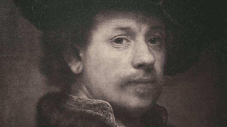 Le musée Condé du château de Chantilly expose pour la première fois 22 eaux-fortes de Rembrandt issues de sa collection de gravures du 17e siècle.  (Culturebox - capture d'écran)