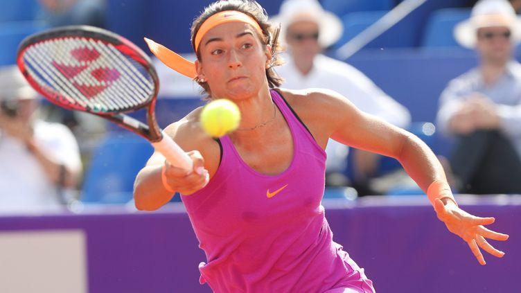 Pas de finale à Strasbourg pour Caroline Garcia (JEAN-MARC LOOS / MAXPPP)
