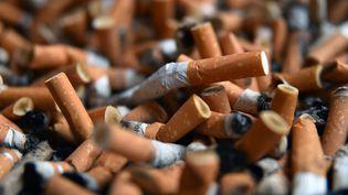 Des mégots de cigarettes (illustration). (MAXPPP)