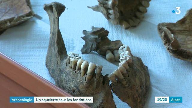 En Savoie, un squelette de 2300 ans découvert sur le chantier de construction d'une villa
