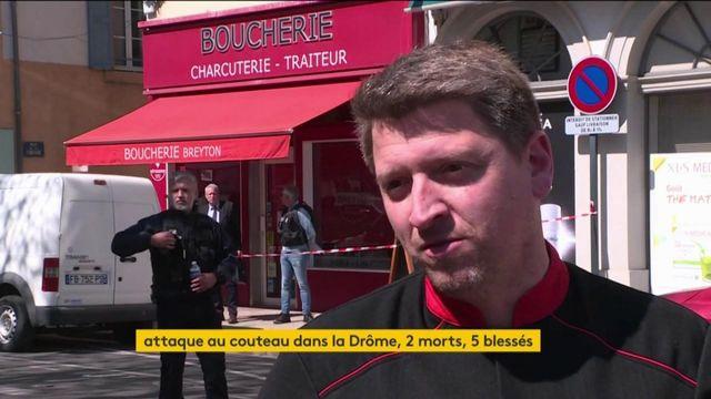 Drôme : deux morts et plusieurs blessés dans une attaque au couteau