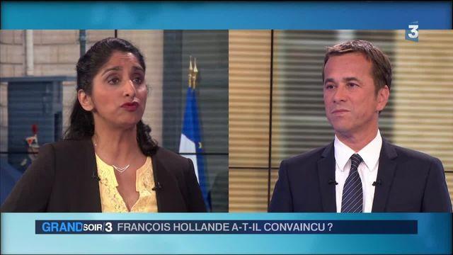 """Michel Dumoret : """"François Hollande a surtout voulu parler à son électorat"""""""