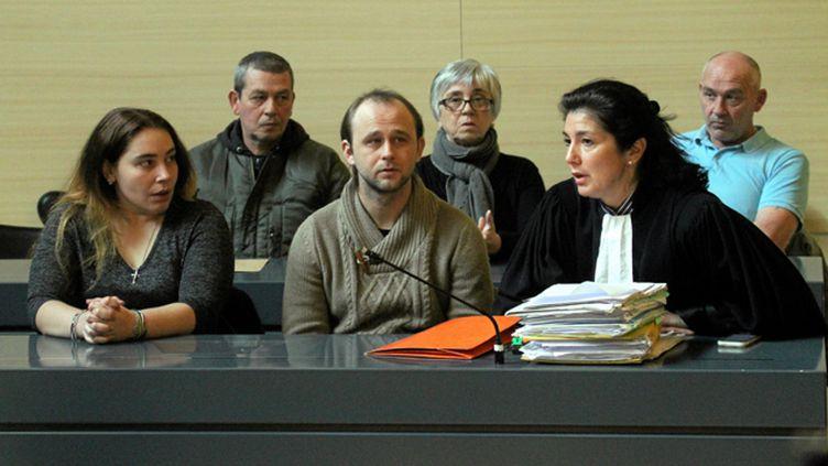 (Nicolas Blondiau a vu la condamnation à perpétuité prononcée en première instance confirmée en appel © Maxppp)