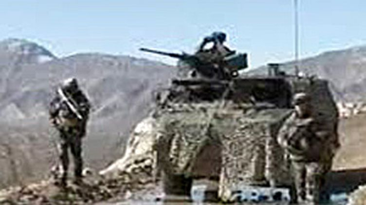 Un char français en Afghanistan (image d'archives) (France 2)