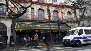 Le Bataclan, à Paris, le 24 décembre 2015. (MIGUEL MEDINA / AFP)