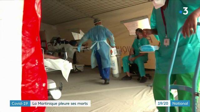 Covid-19 : la situation est de plus en plus critique en Martinique