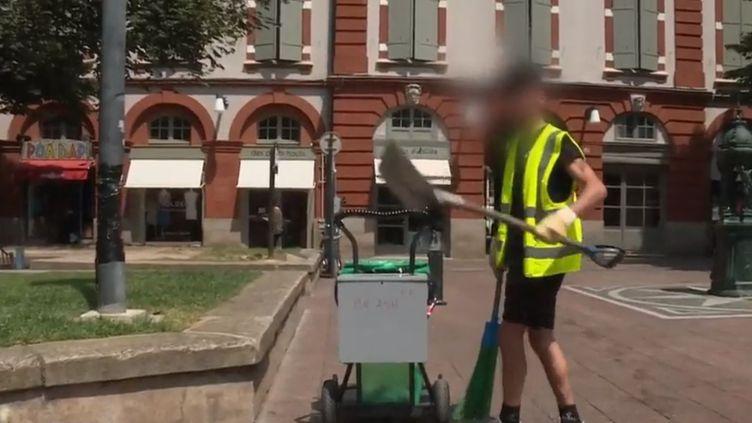 À Toulouse, en Haute-Garonne, le parquet a décidé de mettre en place des peines de travail gratuit pour une collectivité, à la place d'une condamnation dans le cas de certains délits. (FRANCE 2)