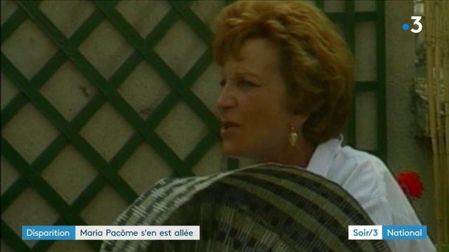 Maria Pacôme s'en est allée