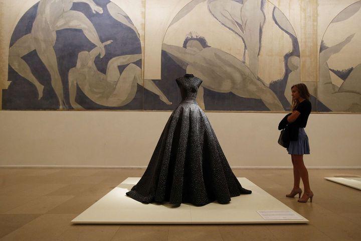 Exposition Azzedine Alaïa / Musée d'Art Moderne, salle Matisse  (Francois Mori/AP/SIPA)