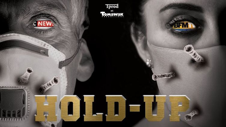 """L'affiche du documentaire """"Hold-up"""". (THANA TV / YOUTUBE)"""