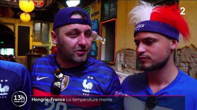 Hongrie-France : la température monte chez les supporters à Budapest