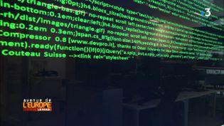Avenue de l'Europe.Cyberdéfense européenne : la France en pointe (FRANCE 3 / FRANCETV INFO)