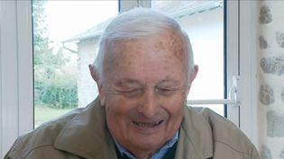 Louis Dauny, premier adjoint des Grands-Chézeaux en Haute-Vienne, fête son centième anniversaire. Une vie d'hommeinvesti pour sa commune. (CAPTURE D'ÉCRAN FRANCE 3)