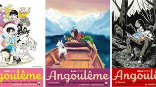 Les affiches du Festival international de la bande dessinée d'Angoulême de 2020 (© FIBD Angoulême)
