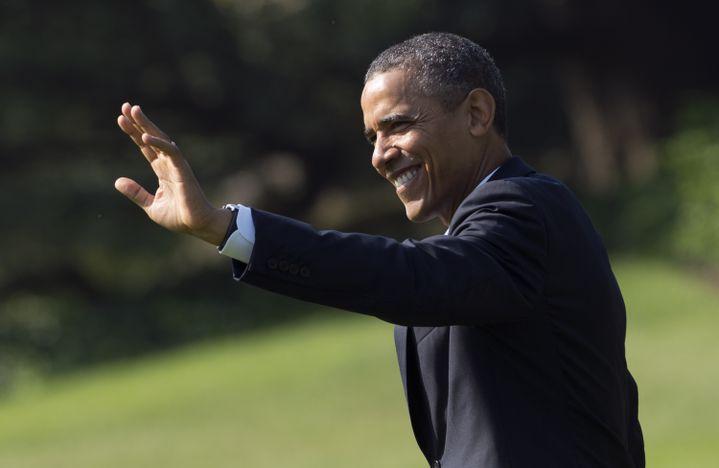 Le président américain Barack Obama à Washington, le 21 août 2012. (SAUL LOEB / AFP)