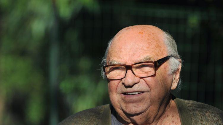 Le fondateur des salons de coiffure Jacques Dessange, ici le 22 octobre 2011 à Pierrefitte-sur-Sauldre (Loir-et-Cher),a publié un livre dans lequel il attaque violemment son fils. (ALAIN JOCARD / AFP)