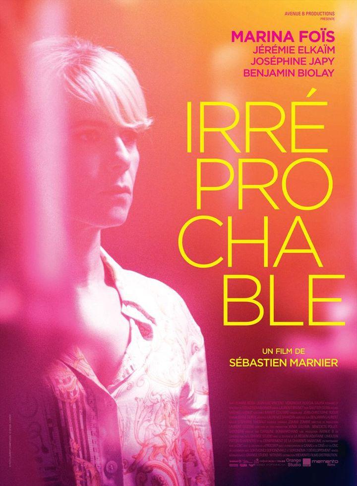 """""""Irréprochable"""" : l'affiche  (Memento Films Distribution)"""