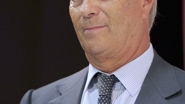 Vincent Bolloré,patron de Vivendi, à Paris, le 9 septembre 2014. (ERIC PIERMONT / AFP)
