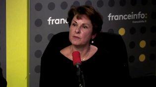 Elisabeth Pelsez,déléguée interministérielle à l'aide aux victimes, le 13 novembre 2017. (FRANCEINFO / RADIO FRANCE)