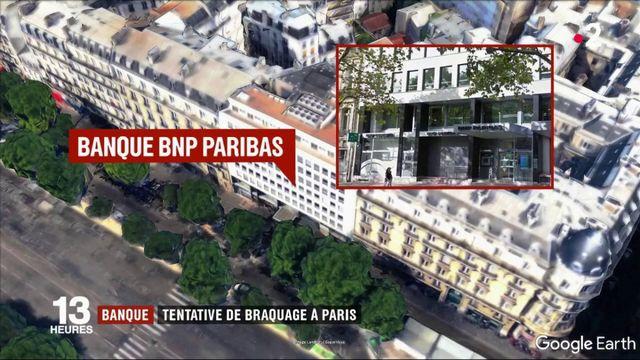 Banque : tentative de braquage à Paris