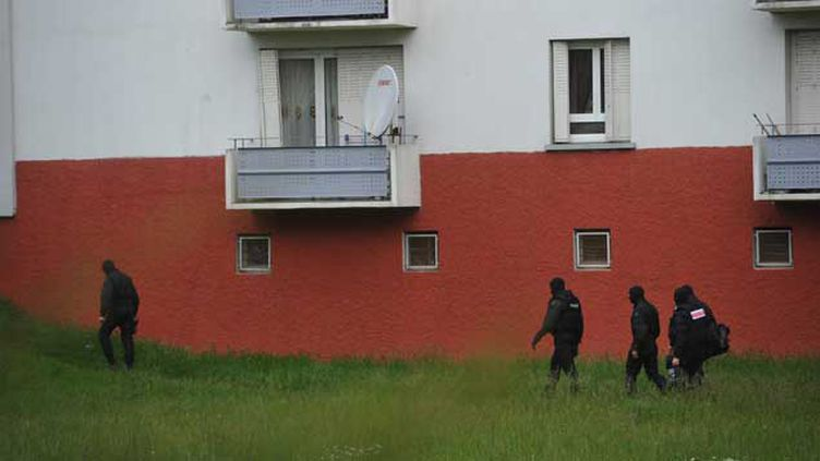 (Coup de filet anti-djihadiste à Strasbourg en mai dernier. © Marc Rollmann/MaxPP)