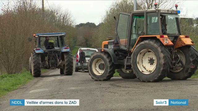Notre Dame-des-Landes : l'évacuation de la ZAD est imminente
