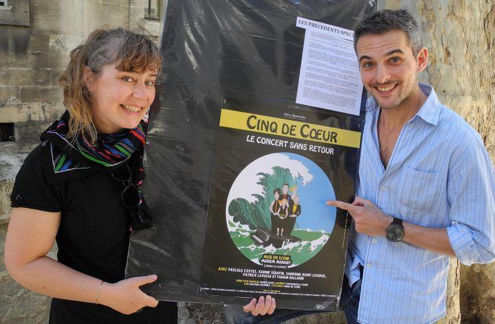 Karine Sérafin et Fabian Ballarin.  (LCA/Culturebox)