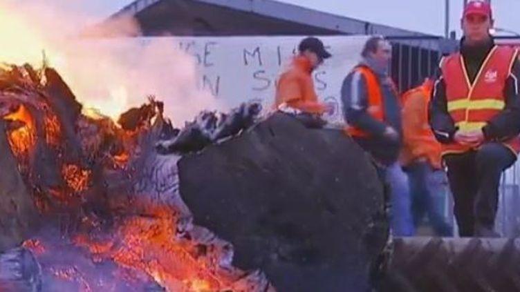L'usine ArcelorMittal de Florange (Moselle) -mardi 28 février 2012 (FRANCE 2)