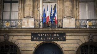 Le ministère de la Justice à Paris, en octobre 2016. (LIONEL BONAVENTURE / AFP)
