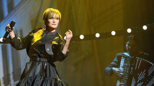 Patricia Kaas sur la scène du Trianon  (SADAKA EDMOND/SIPA/)