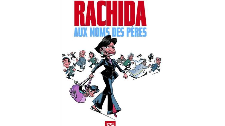 Editée par la maison d'édition 12 bis, la bande dessinée met en scène l'ex-garde des Sceaux, Rachida Dati, etdoit paraître jeudi 25 avril. (12 BIS / DR)
