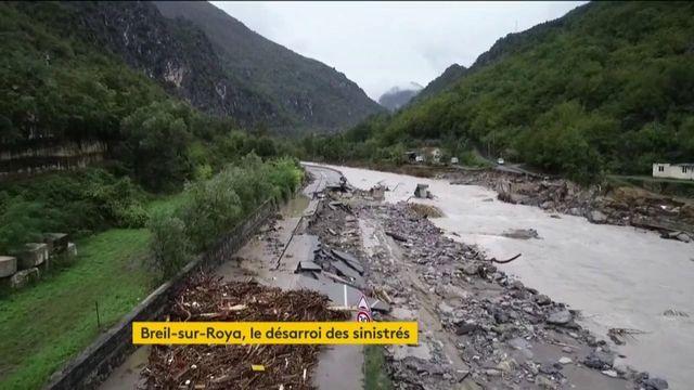Alpes-Maritimes : le désarroi des sinistrés à Breil-sur-Roya