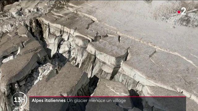 Italie : dans les Alpes, un glacier polaire dangereusement instable