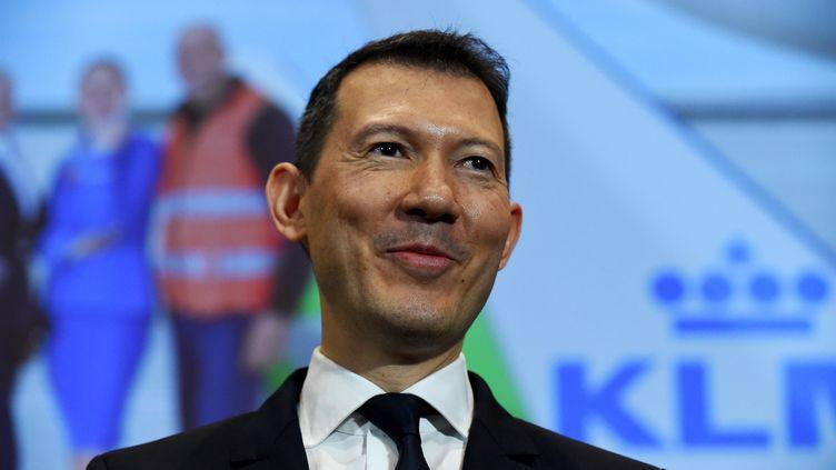 Benjamin Smith, directeur général d'Air France-KLM. (ERIC PIERMONT / AFP)