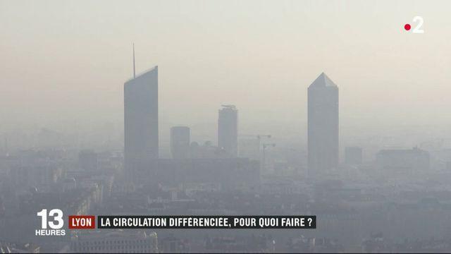 Pollution : la circulation alternée arrive à Lyon