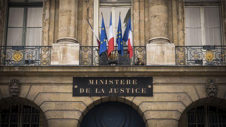 Le ministère de la Justice à Paris en octobre 2016 (LIONEL BONAVENTURE / AFP)