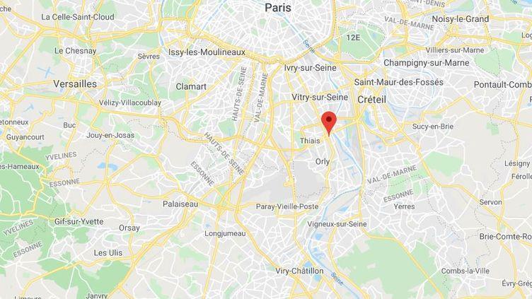 Choisy-le-Roi (Val-de-Marne). (GOOGLE MAPS)